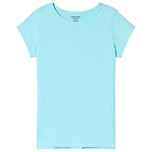 Image of Lands End Blue Short Sleeve Tee 12-13 years (2994537223)