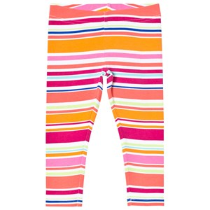 Image of Lands End Multi Colored Striped Leggings 4 years (2994538413)