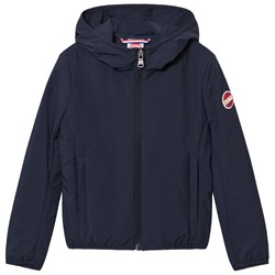 Colmar Navy Blue Hooded Windbreaker