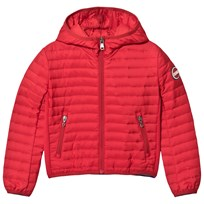 colmar Red Padded Hooded Windbreaker 193 HERMES