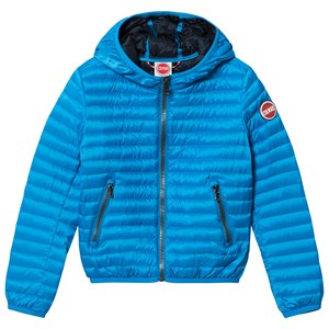 Image of colmar Blue Padded Hooded Windbreaker 12 years (2994537033)