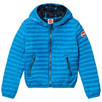 colmar Blue Padded Hooded Windbreaker 281 SHIZAM/NAVY BLUE