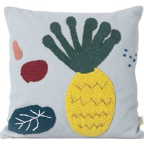 ferm LIVING Pineapple Cushion Blue