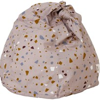 ferm LIVING Knot Bean Bag - Terrazzo - Rose Multi
