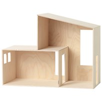 ferm LIVING Miniature Funkis Hus Small Plywood
