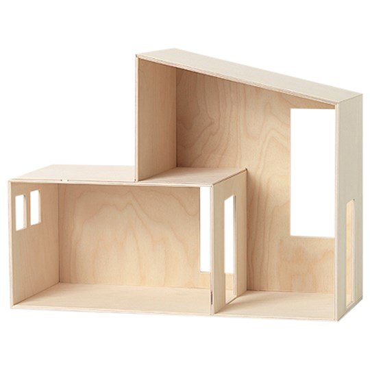 ferm LIVING Miniature Funkis House - Small Plywood
