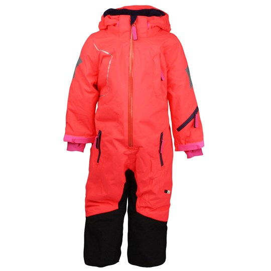 Molo Hero Jr Coverall Fiery Coral Pink