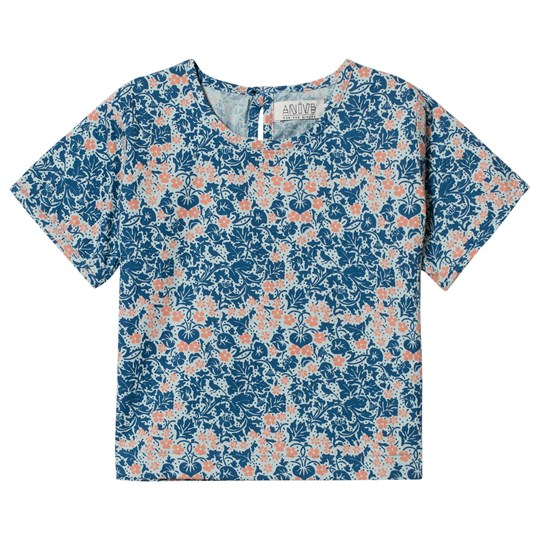 Anïve For The Minors Top Bysans Blue Blue