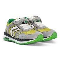 Geox Green and Lime Velcro Pavel Sneakers C0666