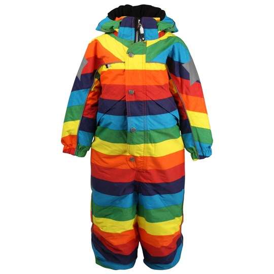 Molo Polaris Jr Coverall Rainbow Multi
