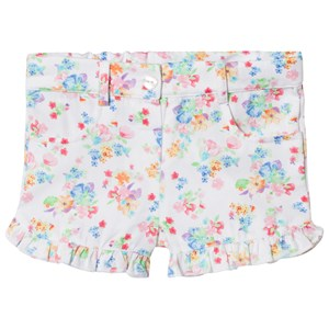 Image of Dr Kid White Floral Frill Shorts 18 mdr (1005512)
