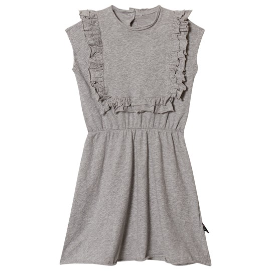 NUNUNU Apron Dress Heather Grey Grey