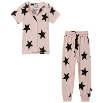 NUNUNU Shirt and Pants Set Powder Pink Powder Pink