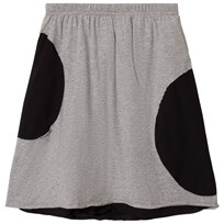 NUNUNU Circle Skirt Heather Grey Серый