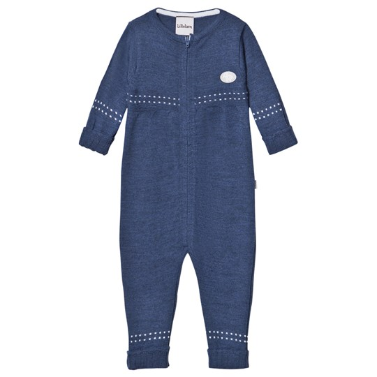 Lillelam Thin One-Piece Blue Blue