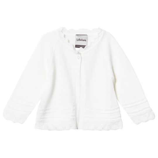 Lillelam Christening Jacket White Hvit