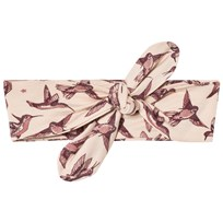 Petit by Sofie Schnoor Swallow Print Hairband Cameo Rose Cameo Rose