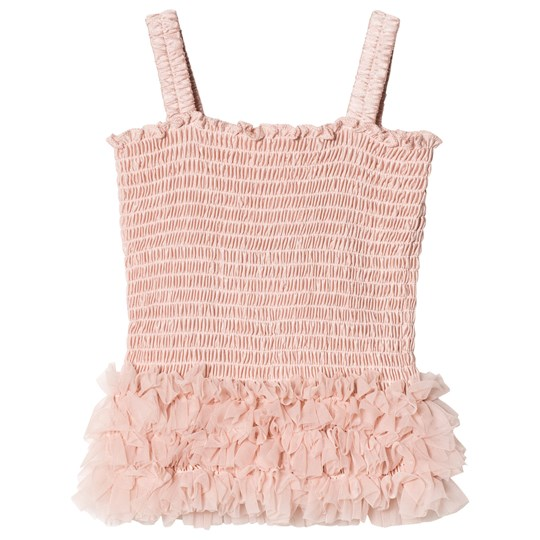 DOLLY by Le Petit Tom Frilly Top Ballet Pink Ballet Pink