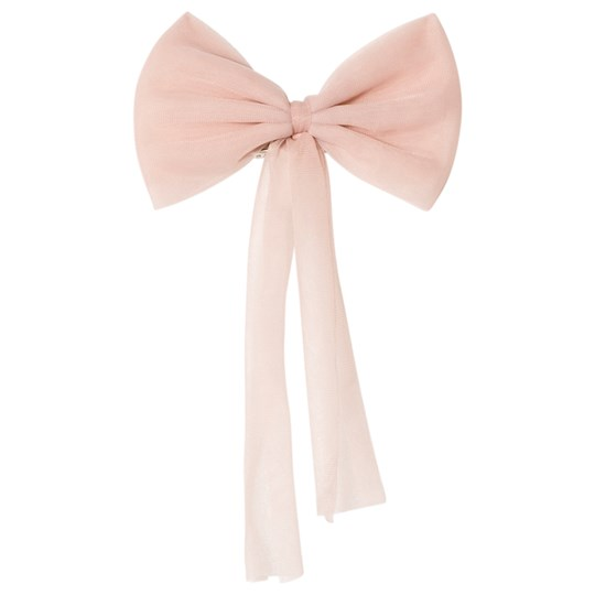 DOLLY by Le Petit Tom Chiffon Hair Bow Ballet Pink Ballet Pink