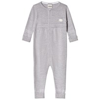 Lillelam Baby One-Piece Medium Grey Medium Grey