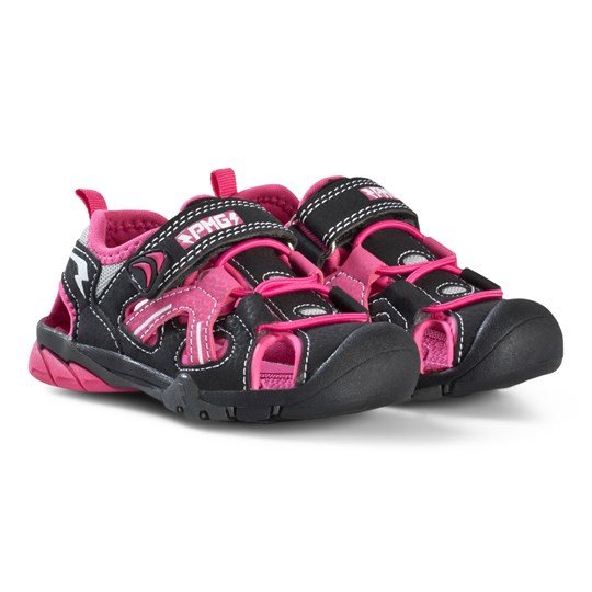 Primigi Water Shoes with Velcro Strap In Pink And Black 14557
