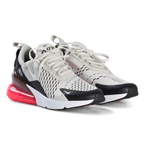 NIKE Light Gray and Black Air Max Shoes 002