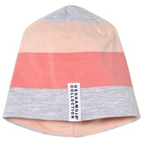Geggamoja Peach Striped Cap Peach