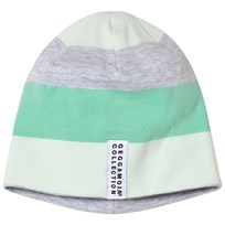 Geggamoja Green Striped Cap Green