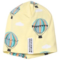 Geggamoja Yellow Balloon Print Limited Edition Cap Baloons