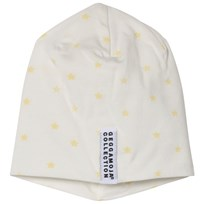 Geggamoja Yellow Star Print Bamboo Cap Yellow star