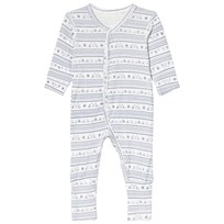 Hust&Claire Mönstrad Bodysuit Blue Tint Blue Tint