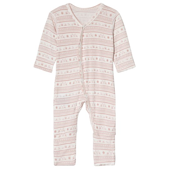 Hust&Claire Printed One-Piece Dusty Rose Dusty Rose