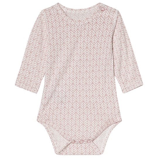 Hust&Claire Printed Baby Body Dusty Rose Dusty Rose