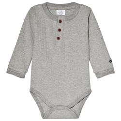 Hust&Claire Baby Body in Light Gray Melange