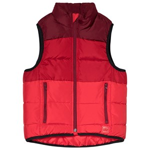 Image of GAP Quilted Vest Red Delicious M (8 år) (2996519213)