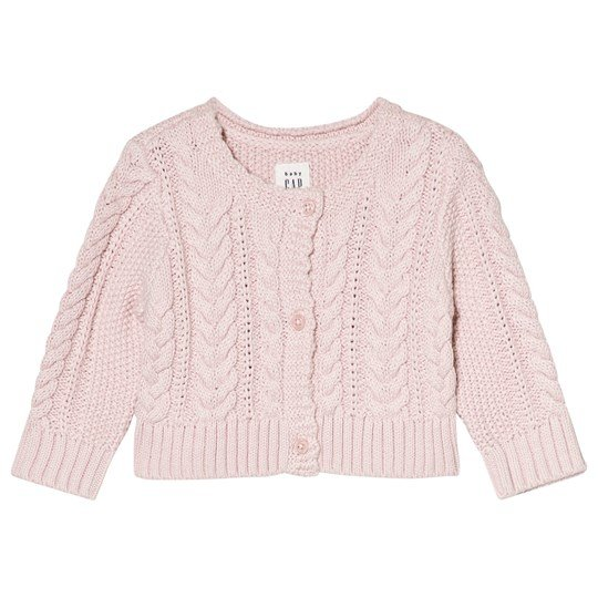 GAP Cable Cardigan Misty Rose Misty Rose
