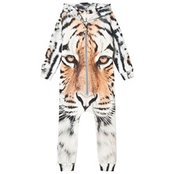 Popupshop Hooded Onesie Tiger