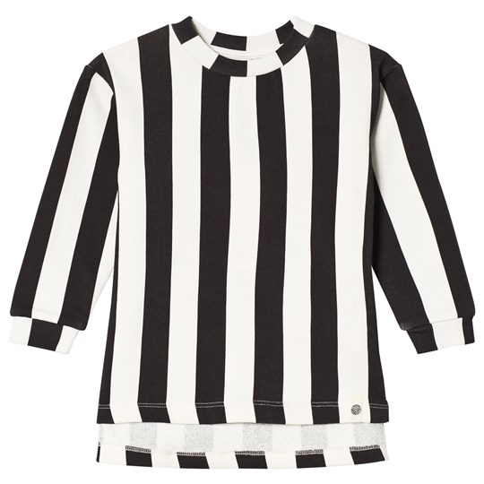 Popupshop Hang Sweater Stripe Black/Off White Stripe Black/Off White