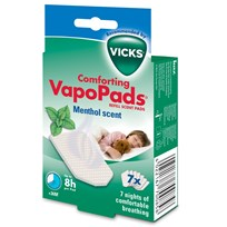 Vicks Comforting VapoPads® Refill Menthol Scent White