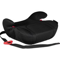 Carena Vitkobb Booster Seat with Beltclip Midnight Black Black