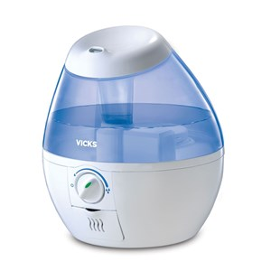 Image of Vicks Mini Cool Mist Ultrasonic Humidifier VUL520E4 (3056062917)