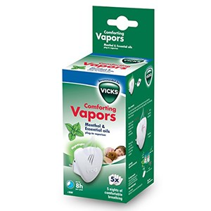 Image of Vicks Comforting Vapors Plug-in Vaporiser VH1700E (2996522091)