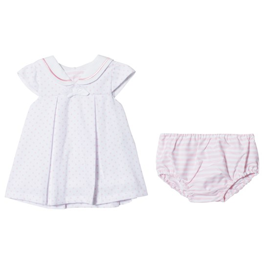 Dr Kid Spotty Dress with Knickers Pink 252