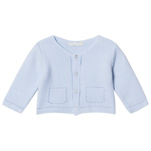 Image of Dr Kid Knitted Infants Cardigan Blue 1 month (2996513995)