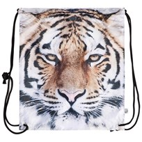 Popupshop Tiger Gym Bag Black & White