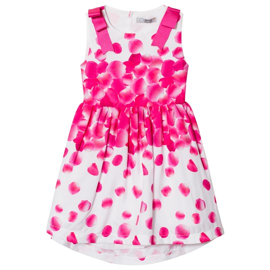Dr Kid Petal Print Dress with Cut Out Back Pink 760