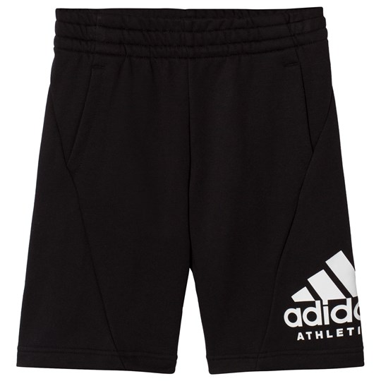 adidas Performance Branded Mjukisshorts Svart Black/White