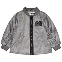 The BRAND Bomber Grey Musta