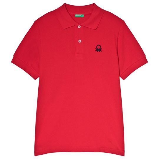 United Colors of Benetton Polo Shirt Red Red
