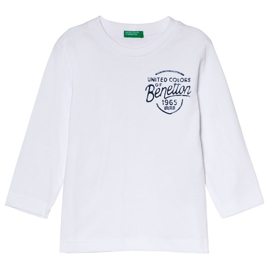 United Colors of Benetton T-shirt L/S White White